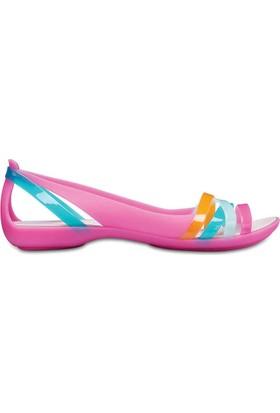 Crocs 204912-6Nu Isabella Huarache 2 Flat Kadın Günlük Sandalet