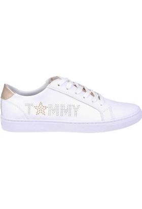 Tommy Hilfiger Fw02349-902 Star Metallic Kadın Günlük Ayakkabı
