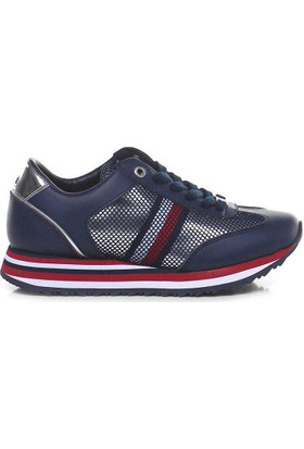 Tommy Hilfiger Fw02450-406 Corporate Flag Kadın Günlük Ayakkabı