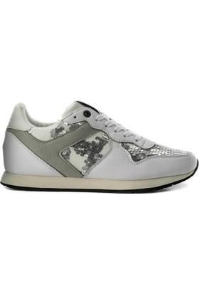Tommy Hilfiger Fw03301-100 Tj Wedge Sequin Kadın Günlük Ayakkabı