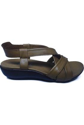 Moka 616038-005 Kadın Günlük Sandalet