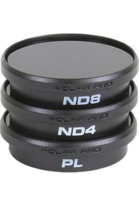 Polarpro Djı Phantom 4/3 3-Pack Compatible With P3 Standard