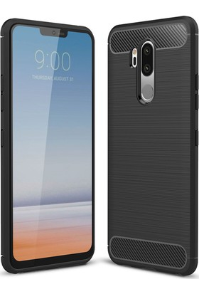 Microsonic LG G7 Kılıf Room Silikon Siyah