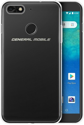 Microsonic General Mobile GM8 Go Kılıf Transparent Soft