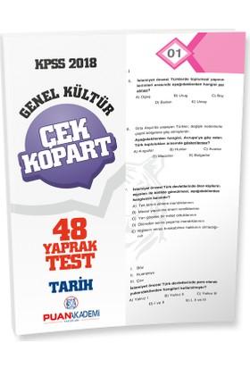 Puan Akademi 2018 KPSS Tarih Yaprak Test