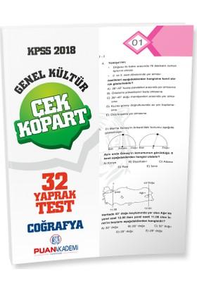 Puan Akademi 2018 KPSS Coğrafya Yaprak Test