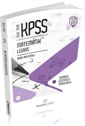 Puan Akademi 2018 KPSS Matematik Text Text Konu Anlatımlı