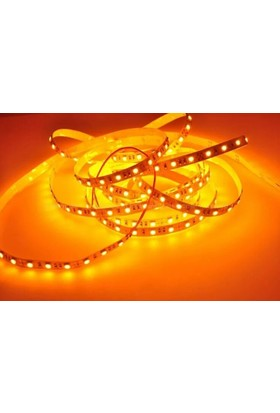Amberled Double Pcb 5050 3 Çipli İç Mekan Şerit Led Amber ( 5 Metre )