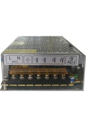 Amberled Modül Led | Şerit Led Trafosu - 12.5 Amper 12V 150 Watt Led Trafo
