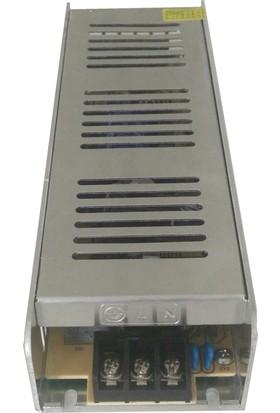 Amberled Modül Led | Şerit Led Trafosu - 30 Amper 12V 360 Watt Slim Kasa Trafo