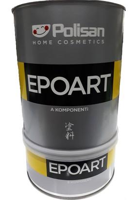 Polisan Epoksi Reçine EPOART Ultra Şeffaf 2,4KG