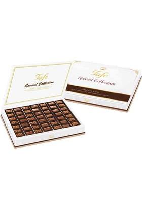 Tafe Çikolatalı Kaplı Antep Fıstıklı Ve Fındıklı Özel Lokum 600 gr