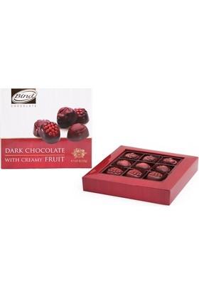 Bind Chocolate Meyve Dolgulu Bitter Çikolata 125 gr