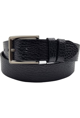Tony Bellucci 71000 Siyah Gerçek Deri Kemer