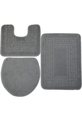 Confetti Ethnic 3 Lü Set (Oyuklu) A.Gri