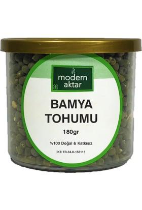 Modern Aktar Doğal Bamya Tohumu 180 gr