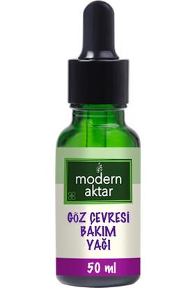 Modern Aktar Doğal Göz Çevresi Bakım Yağı 50 ml