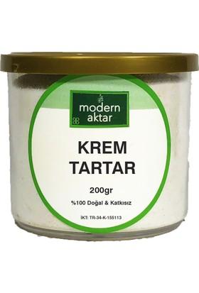 Modern Aktar Doğal Krem Tartar Toz 200 gr