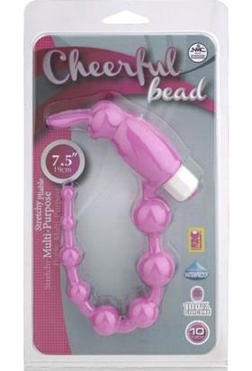 Censan Cheerful Bead Titreşimli Anal Zevk Topları - Pembe