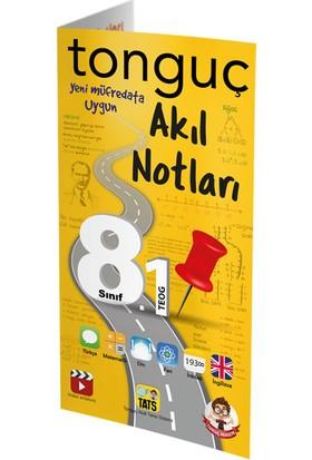 Tonguç Akademi 8. Sınıf Teog 1 Tüm Dersler Akıl Notları Cep Boy