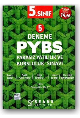 Seans 5. Sınıf Pybs 5 Deneme