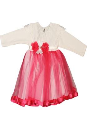 Aviddiva Şeritli Tütü Elbise Mevlütlük Gelinlik