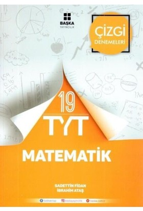 Başka Tyt Matematik 19 Çizgi Denemeleri - Sadettin Fidan