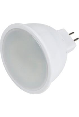 Horoz Fonix5 Gu5.3 Duylu 4200K Ilık Beyaz Işık 5 Watt Led Ampül