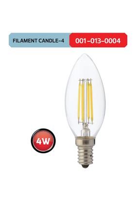 Horoz Filament Candle4 6400K Beyaz Işık 4 Watt Led Ampül