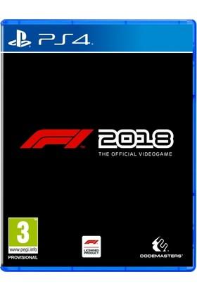 F1 2018 Headline Edition PS4 Oyun