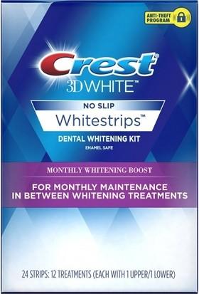 Crest 3D Whitestrips Monthly Diş Beyazlatma Bantları 12 paket