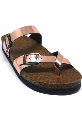 Shop And Shoes 155-271701 Kadın Terlik Rose