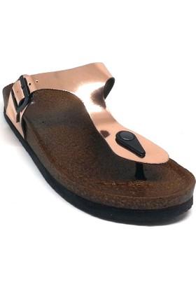 Shop And Shoes 155-271710 Kadın Terlik Rose