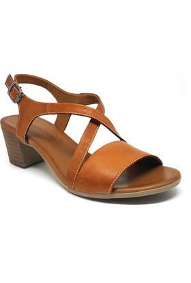 Shop And Shoes 128-1015 Kadın Ayakkabı Taba