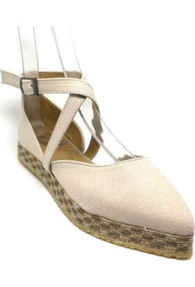 Shop And Shoes 191-1152 Kadın Ayakkabı Bej