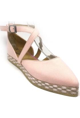 Shop And Shoes 191-1152 Kadın Ayakkabı Pudra