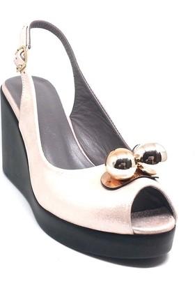 Shop And Shoes 212-8002-2 Kadın Ayakkabı Pudra