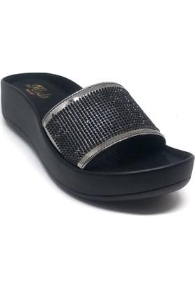 Shop And Shoes 155-13 Kadın Terlik Siyah