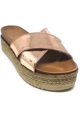 Shop And Shoes 155-851 Kadın Terlik Rose