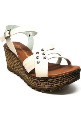 Shop And Shoes 173-38552 Kadın Ayakkabı Bej