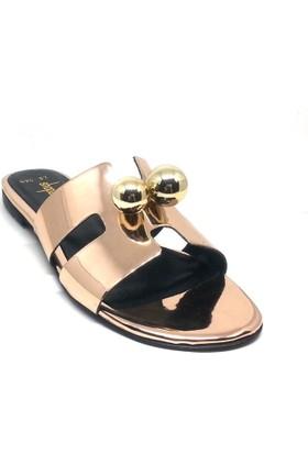 Shop And Shoes 122-494 Kadın Terlik Rose