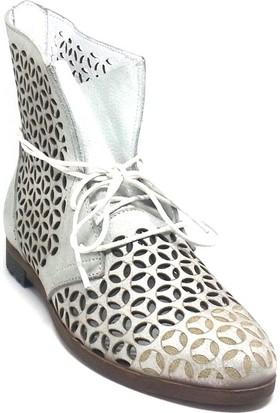 Shop And Shoes 214-28 Kadın Ayakkabı Gümüş