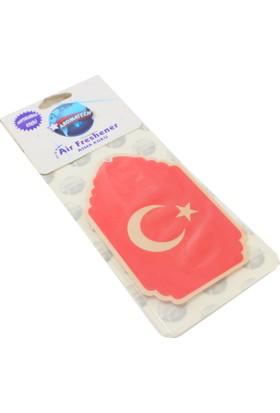 Modacar Türk Bayrağı Desenli Asma Koku 422209
