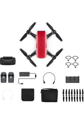Dji Spark Fly More Combo Lava Red (DJI Türkiye Yetkili Satıcısı Garantili)