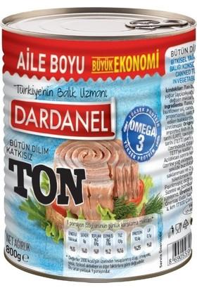 Dardanel Ton Balığı Bitkisel Yağlı 800 gr