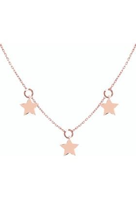 Chewell 14 Ayar Altın There Star Kolye