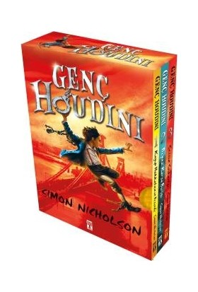Genç Houdini Set (3 Kitap) - Simon Nicholson