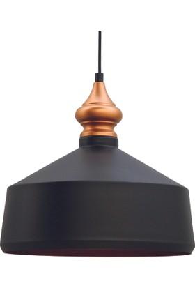 Bamyum Sarkıt Avize Siyah