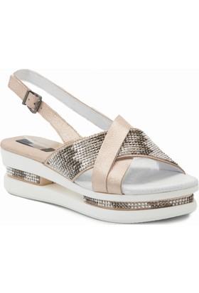 Mammamia D18Ys 5070 Pembe Terlik Sandalet