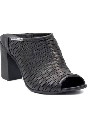 Mammamia D18Yt 2020 Siyah Terlik Sandalet